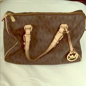 Authentic large Michael Kors purse.